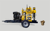 Deep wells drilling machine AKL-200L water well drilling rig