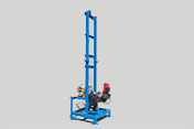 New durable and portable artesian well drilling machine AKL-150H