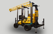 2014 New Attractive price, AKL-600C trailer water well drilling rig