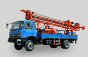 Truck AKL-400R hydraulic truck mounted drilling machine