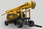 Affordable & economical, AKL-300A percussive drilling rig