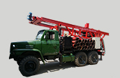 Reverse circulation truck mounted AKL-200T water well piling drilling rig
