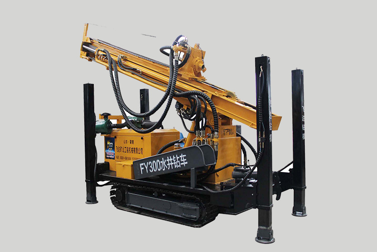 AKL-FY300 300m Depth Pneumatic Drilling Rig